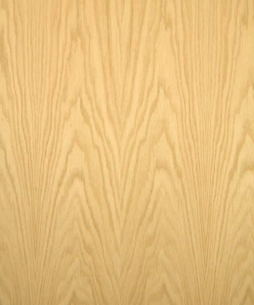 Red Oak Veneer Real Wood 10mil Paper Back Cherokee Wood