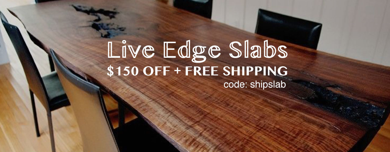 Hardwood Slab Sale
